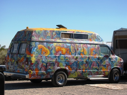 Customized Dodge Van